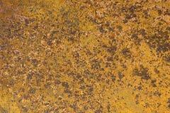 Metaal aangetaste textuur Stock Afbeelding