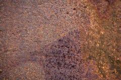 Metaal aangetaste textuur Royalty-vrije Stock Fotografie