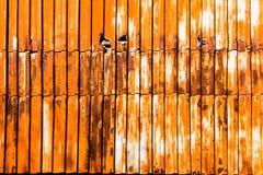 Metaal aangetaste textuur Stock Foto