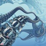 Metaal abstracte bouw royalty-vrije illustratie