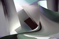 Metaal abstractum Stock Foto's