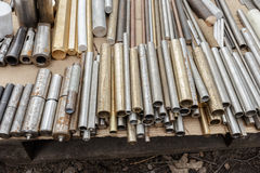 Metaal cilinders Royalty-vrije Stock Foto