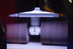 Metaal deburring machine royalty-vrije stock afbeeldingen