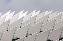 Metaal driehoeken Stock Foto's