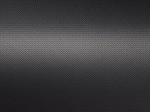 Metaal geborstelde achtergrond, geperforeerde metaaloppervlakte Stock Afbeelding