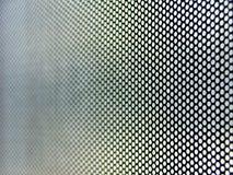 Metaal geperforeerde oppervlakte stock fotografie