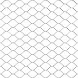 Metaal Getelegrafeerde Omheining Pattern het 3d teruggeven Stock Illustratie