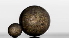 Metaal glanzende gebieden het 3d teruggeven vector illustratie