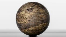 Metaal glanzende gebieden het 3d teruggeven royalty-vrije illustratie