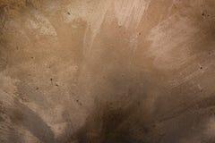 Metaal gouden bloktegel met boutenvloer die op helder licht wijzen Industrieel abstract concept als achtergrond Stock Fotografie