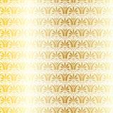 Metaal gouden en wit Grieks sier vectorpatroon Royalty-vrije Illustratie