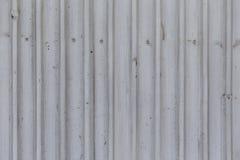 metaal grijze golfmuur stock fotografie