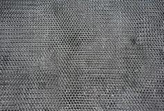 Metaal hexagon patroon voor textuur en achtergrond Royalty-vrije Stock Foto's