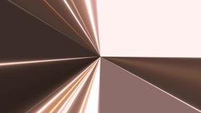 Metaal Lichtstraalstralen stock illustratie