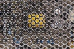 Metaal Mesh Grill Cover Texture Royalty-vrije Stock Afbeelding