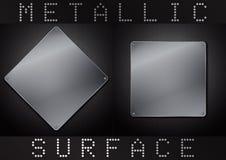 Metaal oppervlakte Royalty-vrije Stock Afbeelding