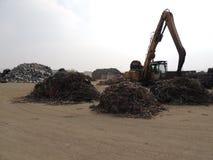 Metaal recycling Stock Afbeelding