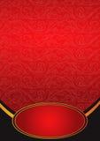 Metaal rode achtergrond Royalty-vrije Stock Fotografie