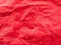 Metaal rode foliedocument illustratie voor achtergrond Stock Foto
