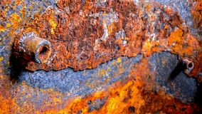 Metaal, roest, corrosie, vat, container stock foto's