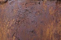 Metaal Roestige Oppervlakte Stock Afbeeldingen