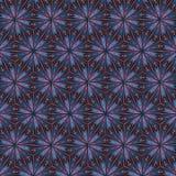 Metaal rood driehoekenpatroon voor gebrandschilderd glaseffect Royalty-vrije Stock Foto