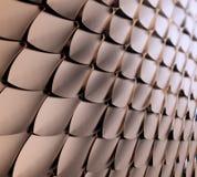 Metaal schalenachtergrond Stock Foto