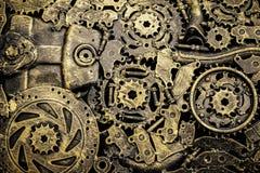 Metaal uitstekende machines stock foto
