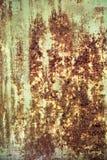 Metaal van het textuur het oude blad Royalty-vrije Stock Afbeelding
