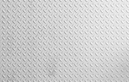 Metaal witte achtergrond Royalty-vrije Stock Afbeeldingen