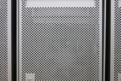 Metaalachtergrond stock illustratie