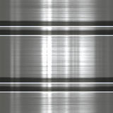 Metaalachtergrond of textuur Royalty-vrije Stock Afbeelding