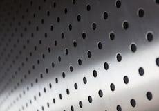 Metaalblad met gaten Stock Afbeeldingen