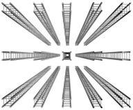 Metaalbouw Stock Afbeelding