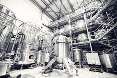 Metaalcontainers Stock Fotografie