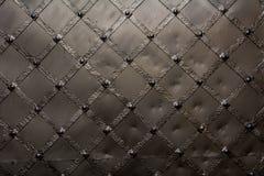 Metaaldeurtextuur royalty-vrije stock afbeeldingen