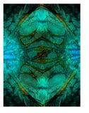 Metaalemerald green color art decoration, Achtergrond royalty-vrije stock fotografie