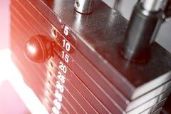Metaalgewichten Stock Afbeelding