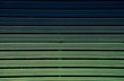 Metaalgrating met rubber geweven groene deklaag Textuur royalty-vrije stock afbeeldingen