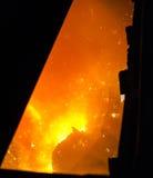 Metaalindustrie stock foto