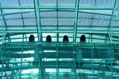 Metaalkader met ventilatiebuizen Royalty-vrije Stock Afbeeldingen