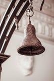 Metaalklok, kerk Royalty-vrije Stock Afbeelding