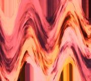 Metaalpastelkleur gekleurde textuur De achtergrond van de fantasie De verspreiding van kleurenwolken Heldere oppervlakte Gekrulde stock illustratie
