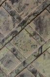 Metaalplaat met verdraaide platen Royalty-vrije Stock Afbeelding