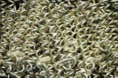 Metaalspiralen Royalty-vrije Stock Fotografie