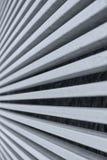 metaalstrepen die abstract patroon vormen Stock Foto