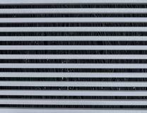 metaalstrepen die abstract patroon vormen Stock Afbeelding