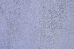 Metaaltextuur met krassen en barsten, gebarsten verf Stock Afbeeldingen