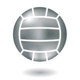 Metaalvolleyball Royalty-vrije Stock Foto