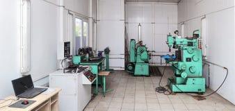 Metaalworkshop. Stock Afbeeldingen